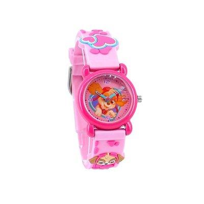 77359 Paw Patrol Kids Time 3D Girls Horloge 27 Ø Roze