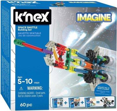 17021 K'NEX Space Shuttle Bouwset 60 onderdelen