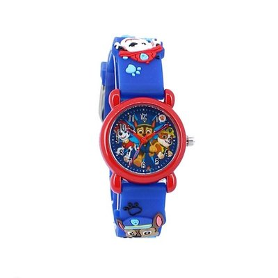 77366 Paw Patrol Kids Time 3D Boys Horloge 27 Ø Blauw