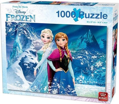 55919 KING Puzzel Disney Frozen 1000 Stukjes