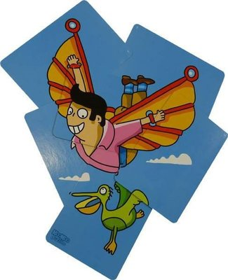 94712 999Games KooKoo Puzzel Vliegen Legpuzzel