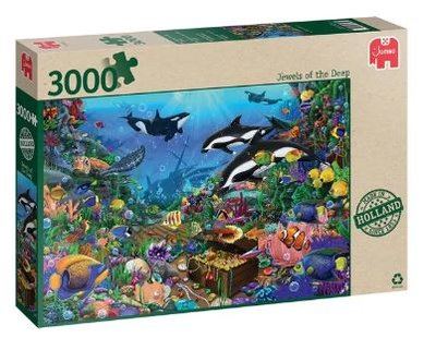 81864 Jumbo Jewels Of The Deep Puzzel 3000 Stukjes