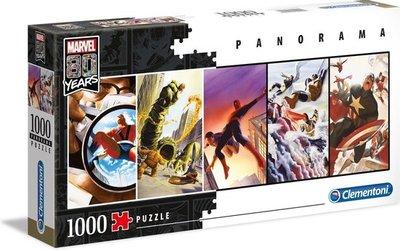 39546 Clementoni Puzzel Marvel 80 Years Karton 1000 Stukjes