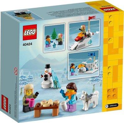 40424 LEGO Winters Sneeuwballengevecht