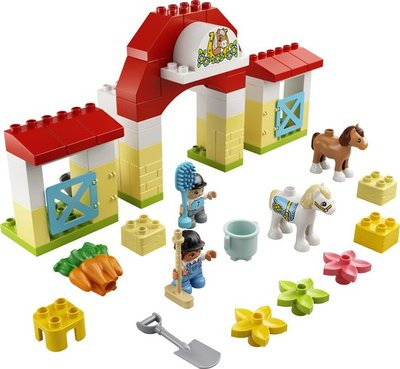 10951 LEGO DUPLO Paardenstal en Pony's Verzorgen