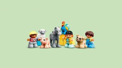 10952 LEGO DUPLO Schuur, Tractor & Boerderijdieren Verzorgen