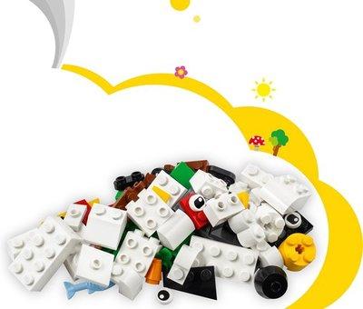 11012 LEGO Classic Creatieve Witte Stenen