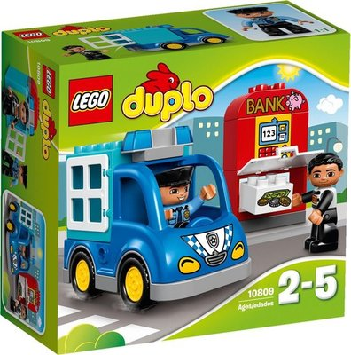 10809 LEGO DUPLO Politiepatrouille Wagen