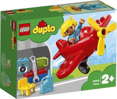 10908 LEGO DUPLO Rode Vliegtuig