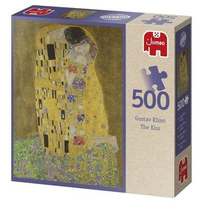 81868 JUMBO Puzzel Gustav Klimt the Kiss 500 Stukjes