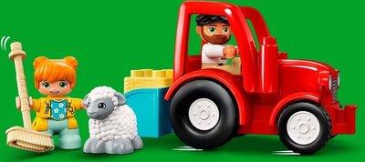10950 LEGO DUPLO Landbouwtractor En Dieren Verzorgen