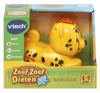 500123 VTech Zoef Zoef Dieren Charlie Cheetah