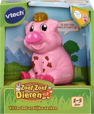 544423 VTech Zoef Zoef Dieren Victor Het Vrolijke Varken
