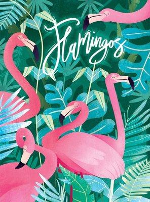 35067 Clementoni Puzzel Fantastic Animals Flamingo 500 Stukjes