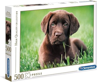 35072 Clementoni Puzzel Chocolate Puppy 500 Stukjes