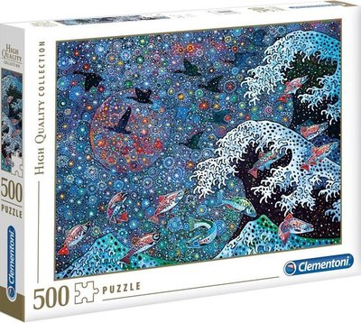 35074 Clementoni Puzzel Dancing with the Stars 500 Stukjes