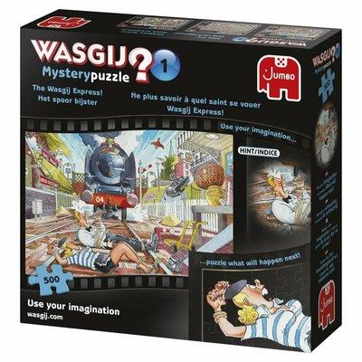 81856 Jumbo Puzzel Wasgij Mystery 1 Het Spoor bijster 500 Stukjes