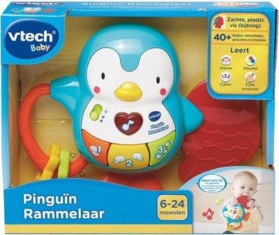 165623 VTech Baby Pinguïn Rammelaar