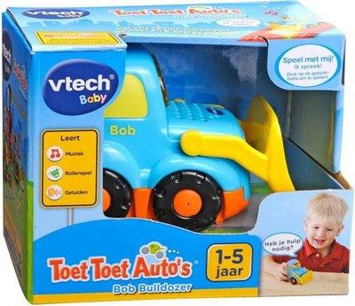 151823 VTech Toet Toet Auto's Bob Bulldozer
