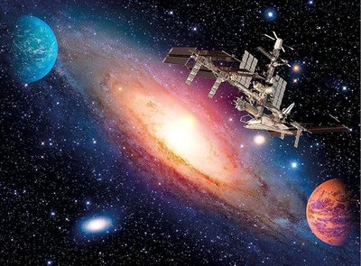 35075 Clementoni Puzzel HQ Collection International Space Station 500 Stukjes