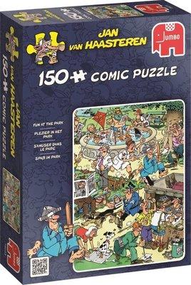 19023 JUMBO Puzzel Jan van Haasteren Plezier In Het Park 150 Stukjes