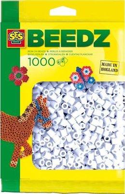 00700 SES Beedz Strijkkralen 1000 Stuks Wit