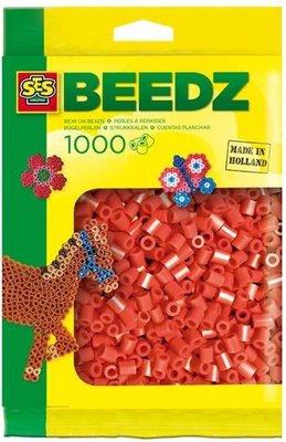 00702 SES Beedz Strijkkralen 1000 Stuks Rood