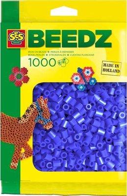 00724 SES Beedz Strijkkralen 1000 Stuks Donker Blauw
