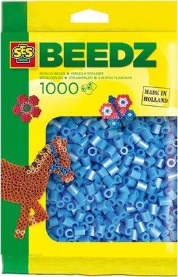 00704 SES Beedz Strijkkralen 1000 Stuks Lichtblauw
