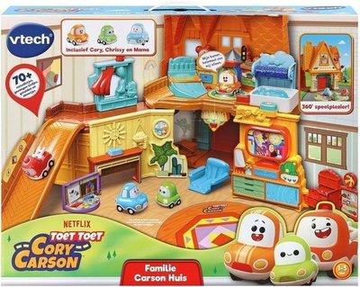 529123 VTech Toet Toet Cory Carson Familie Carson Huis - Speelset