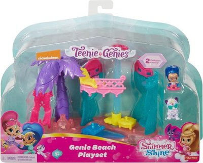 57912 Fisher-Price Shimmer & Shine Teenie Genies Strandplezier Speelset