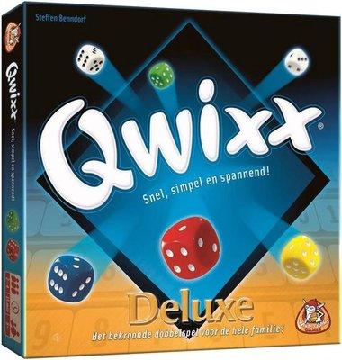 01361 White Goblin Qwixx Deluxe Dobbelspel