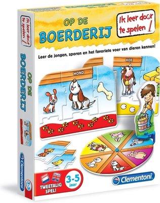 66502 Clemenoni ik leer dieren Op De Boerderij 3-5