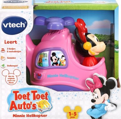 539523 VTech Toet Toet Auto's Disney Edition Minnie Helikopter