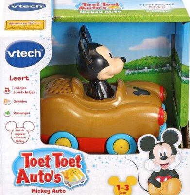512523 VTech Toet Toet Auto's Disney Edition Mickey Wonderland Auto