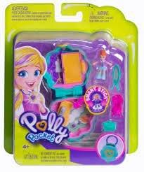38110 Mattel Polly Pocket Tiny Pocket Places Lila's Kledingkast