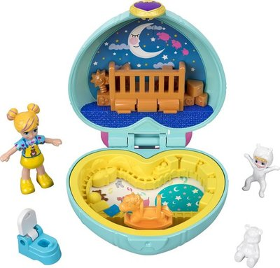 65953 Mattel Polly Pocket Tiny Pocket Places Polly & Babykamer