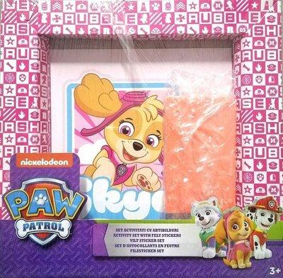 2021 Nickelodeon Paw Patrol - Vilt Sticker Set - Vanaf 3 jaar