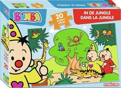20442 Studio100 Puzzel Bumba In de jungle 20 Stukjes