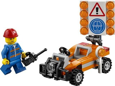 30357 LEGO City Wegwerker (Polybag)