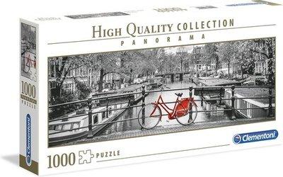 39440 Clementoni legpuzzel Amsterdam Fiets 1000 stukjes