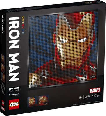 31199 LEGO Art Marvel Studios Iron Man