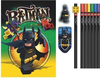 51749 LEGO Batman Schrijfboek met Schrijfwaren 6 Delig