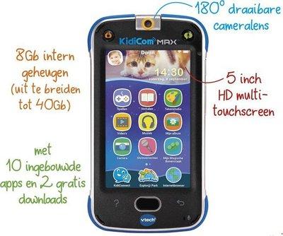 169523 VTech Kidicom Max Kindertablet Blauw