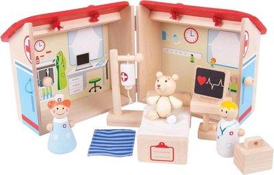 04701 ThimbleToys Draagbaar Ziekenhuis 11 delig