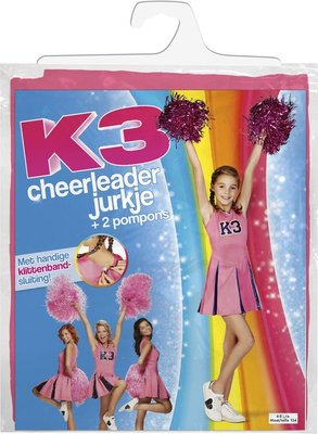 08679 K3 jurkje Cheerleader Maat 152 Verkleedjurk