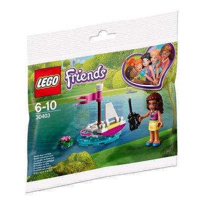 30403 LEGO Friends  Olivia's Afstandbestuurbare Boot (Polybag)