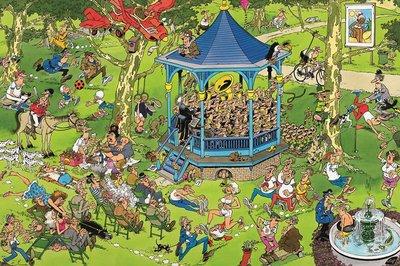 81846 Jan van Haasteren The Bandstand 500 stukjes