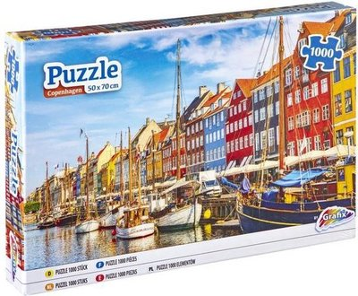 62525 Grafix Puzzel Kopenhagen 1000 Stukjes