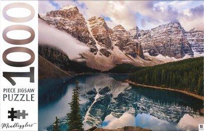 10456 Hinkler Puzzel Moraine Lakes Alberta Canada 1000 Stukjes